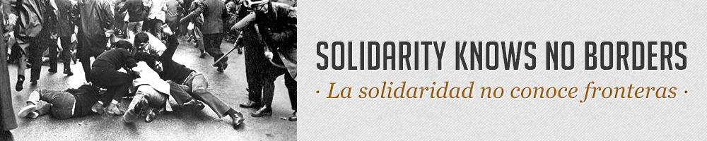 Solidarity Knows no Borders